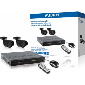 Image of CCTV-Set HDD 500 GB / 420 TVL - 2x Camera