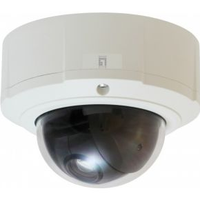 LevelOne Levelone FCS-4043 PTZ Dome Network Camera 3-Megapixel Outdoor PoE 802. (FCS-4043)