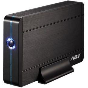 Image of ADJ 120-00010 Externe harde schijf Behuizing stone 3.5 inch SATA USB3.0 LED Black