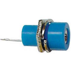 Image of Aansluitklem 4mm Soldeeraansluiting - Blauw - (25 st.)