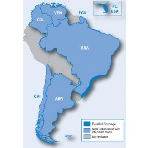 Garmin City Navigator NT Zuid-Amerika microSD