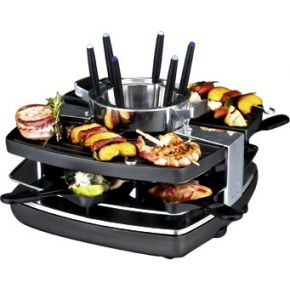 Image of Design Raclette - Fondue - Set 42559