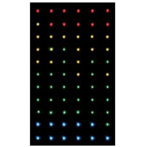 Image of Led Starcloth Ii - 2 X 3 M Rgb-sterrengordijn