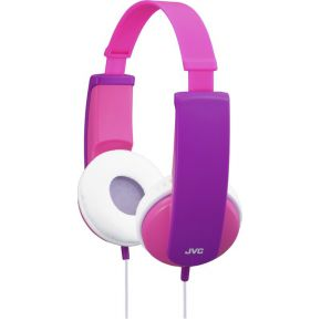 HA-KD5-P-E Casque fille rose-violet
