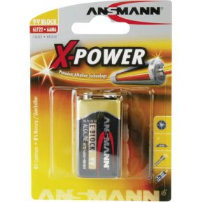 Image of 1 Ansmann Alkaline 9V-Block X-Power