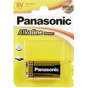 Image of 1 Panasonic Alkaline Power 9V-Block