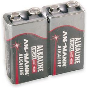 Ansmann 1x2 9V Alkaline battery E-Block (5015591)