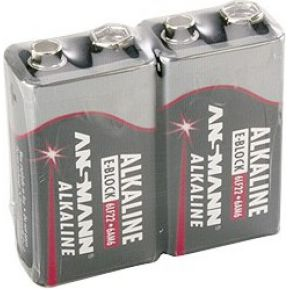 Ansmann 1x2 9V Alkaline battery E-Block (5015591)
