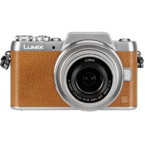 Image of Panasonic Lumix DMC-GF7 kit bruin/zilver H-FS 12-32 mm
