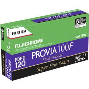 Image of 1x5 Fujifilm Provia 100 F 120 Nieuw