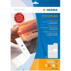 Image of Herma 7583 Fotophan 9X13 8P.Wit