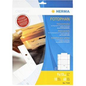 Image of Herma 7584 Fotophan 9X13 6P.Wit