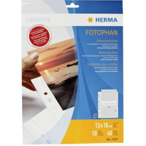 Image of Herma 7587 Fotophan 13X18 Wit