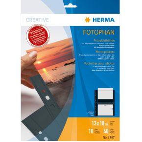 Image of Herma 7787 Fotophan Zichtmappen 13X18 (10 vel)