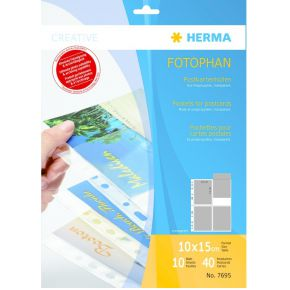 Image of Herma 7695 Pockets For Postcards