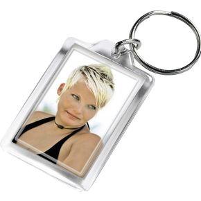 Image of 1x24 Hama sleutelhanger klein acryl voor pasfoto 2.8x4.3 i.D.