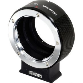 Metabones Minolta MD naar X-mount- Minolta MD naar Fuji X-Mount camera met AS compatibel statiefvoet