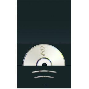 Image of 1x100 Daiber Combimap met CD vak tot beeldgrootte 6x9cm zwar