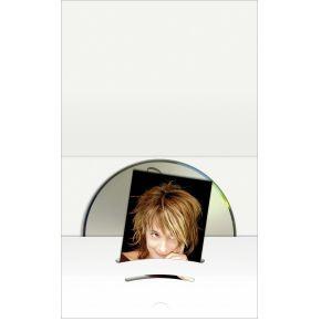 Image of 1x100 Daiber Combimap met CD vak tot beeldgrootte 6x9 cm wit