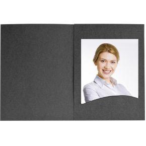 Image of 1x100 Daiber Pasfotomapjes Profi-Line tot 7x10 cm zwart