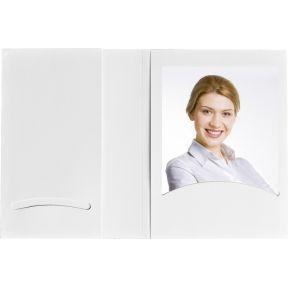 Image of 1x100 Daiber Pasfotomappen m. CD-Rom-vak tot 10x15 wit