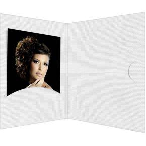 Image of 1x100 Daiber Pasfotomappen Opti-Line tot 5x7 cm wit