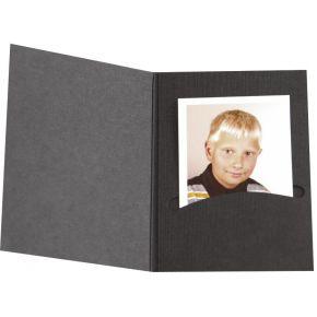 Image of 1x100 Daiber Pasfotomappen Profi-Line bis 4,5x6 cm schw.