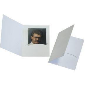 Image of 1x100 Daiber Pasfotomappen Profi-Line tot 4,5x6 cm wit