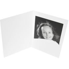Image of 1x100 Daiber Pasfotomappen Profi-Line tot 9x13 cm wit