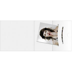Image of 1x100 Daiber pasfotomappen wit tot fotogrootte 70x100 mm