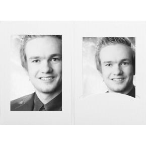 Image of 1x100 Daiber Portretmappen m. Passepartout 10x15 Matwit