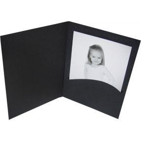 Image of 1x100 Daiber Portretmappen Profi-Line 10x15 zwart