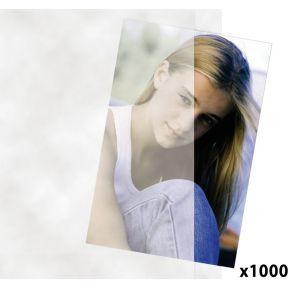 Image of 1x1000 Daiber transparante hoezen 10x15