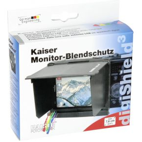 Image of Kaiser DigiShield glare shield 76 cm 30 zwart