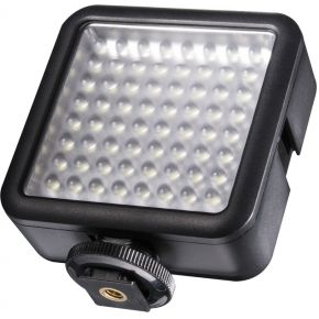Image of walimex pro LED-videolamp 64 dimbaar