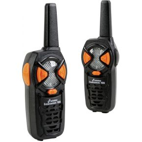 Stabo Freecomm 100 Walkie Talkie Set met bereik tot 10 km.
