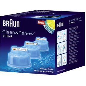 Image of Braun CCR 3 Clean Renew 3-pak