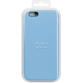 iPhone 6 Siliconen Cover Blauw