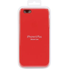 iPhone 6 Plus Siliconen cover Rood