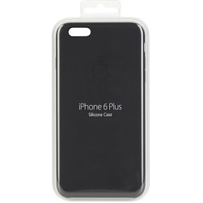 iPhone 6 Plus Siliconen cover zwart