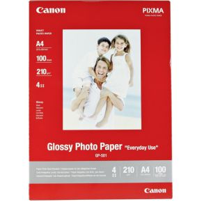 Inkjetpapier Canon GP-501 A4 210gr foto glans 100vel