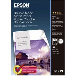 Epson Double-Sided Matte Paper, DIN A4, 178g-m², 50 Vel