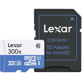 Lexar High Speed Micro-SDHC 32GB Class 10 300x