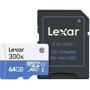 Lexar MicroSDXC High Speed 64GB 300x UHS1
