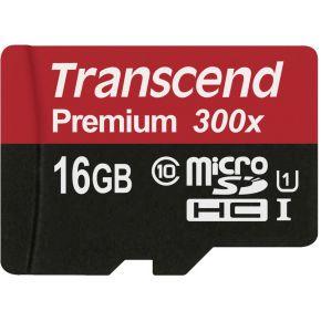 MicroSDHC kaart 16GB Class 10 UHS-I
