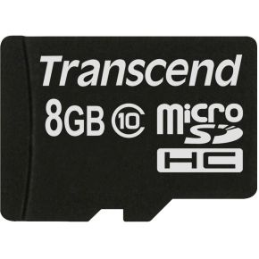 Transcend 8GB microSDHC