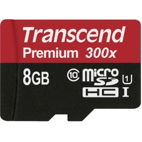 MicroSDHC Card 8GB Class 10 UHS-I