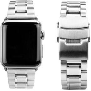 Image of CASEual rvs horlogeband voor Apple Watch 42mm, zilver