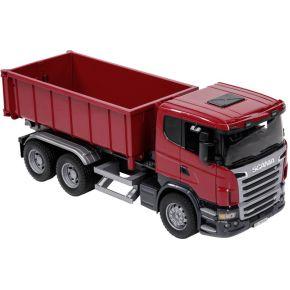 Bruder Scania vrachtwagen met roll-off container