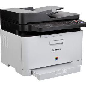 Samsung Multifunctionele kleurenlaserprinter A4 Printen, Scannen, Kopiëren, Faxen LAN, WiFi, NFC, AD